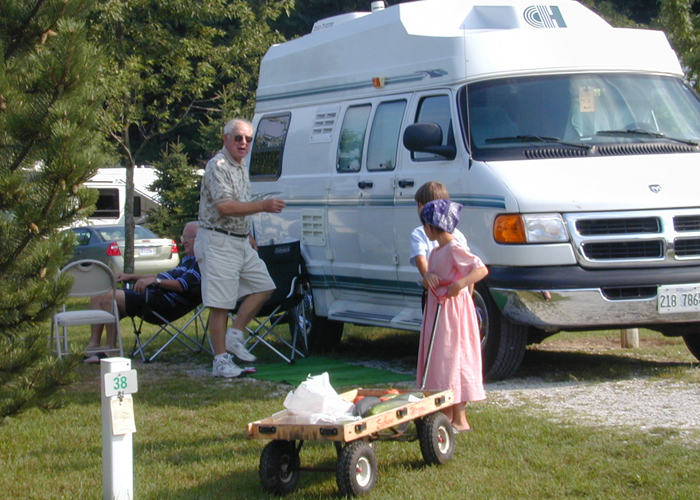 Shipshewana Campground - North Park